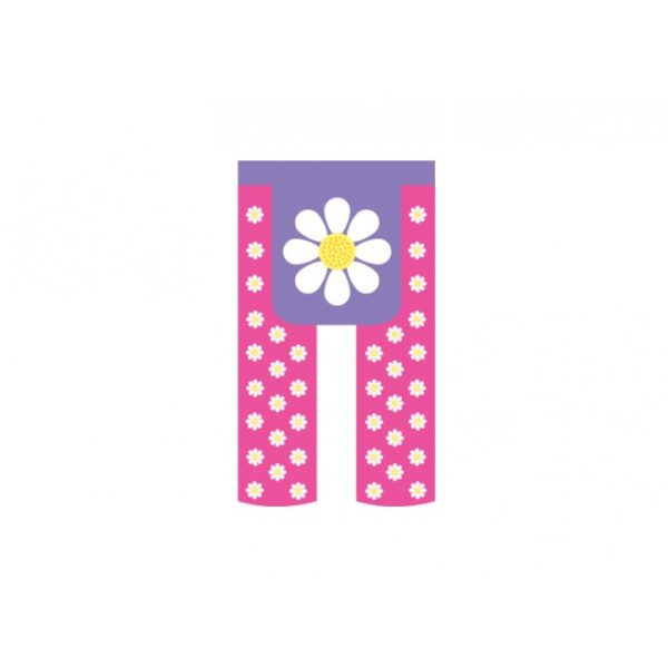 Little Trends Footless Tights - Daisy - Annabel Trends