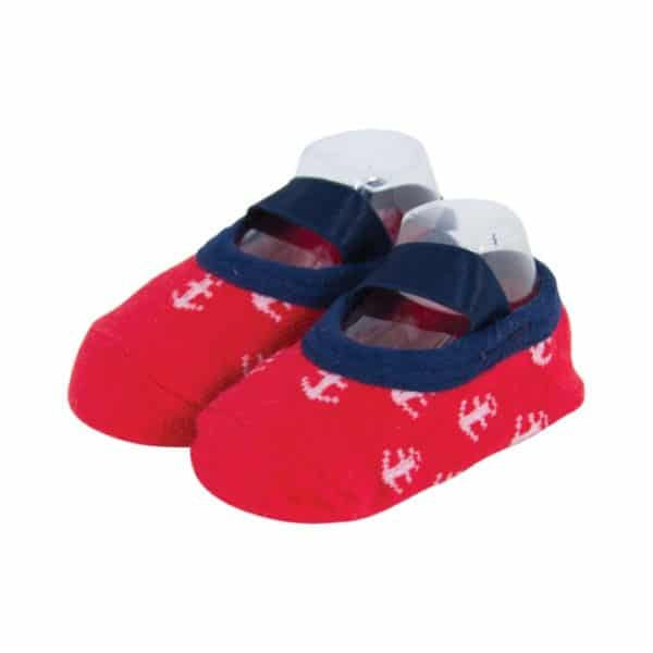 My First Tippy Toes - Red Navy - Annabel Trends