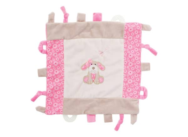 Security Blankets - Pink Puppy - Annabel Trends