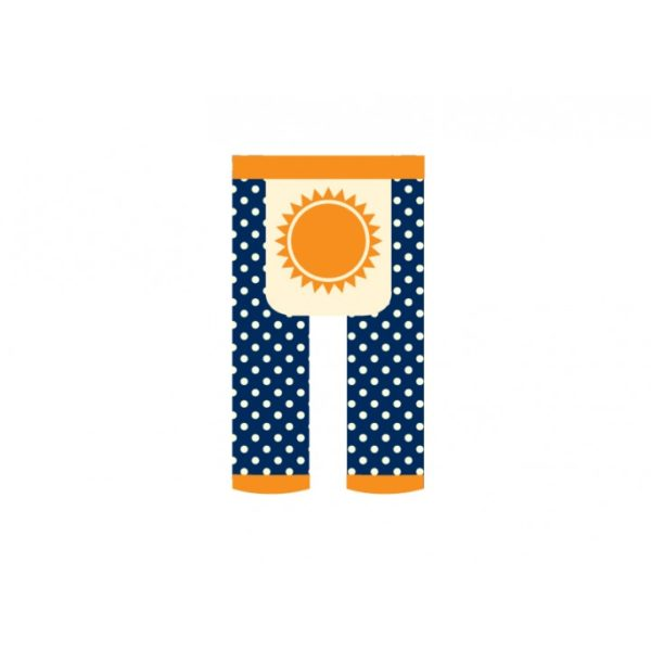 Little Trends Footless Tights - Sunshine 1