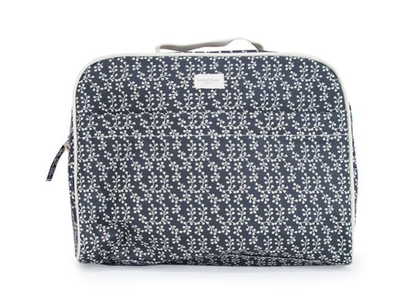 Toiletries Bag - Floral Vine Black - Annabel Trends