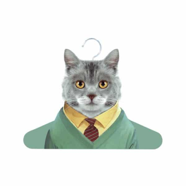 Zoo Portrait Hanger - Cat - Annabel Trends