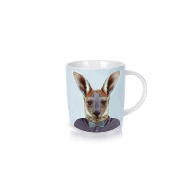 Zoo Portraits Coffee Mug - Kangaroo - Annabel Trends