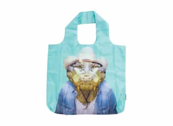 Zoo Portrait - Shopping Tote - Crocodile - Annabel Trends