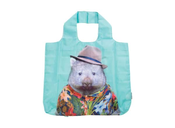 Zoo Portrait - Shopping Tote - Wombat - Annabel Trends