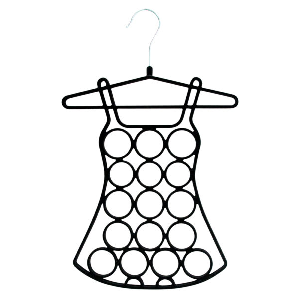 AT Home Accessory Hanger - Dress - Black - Annabel Trends