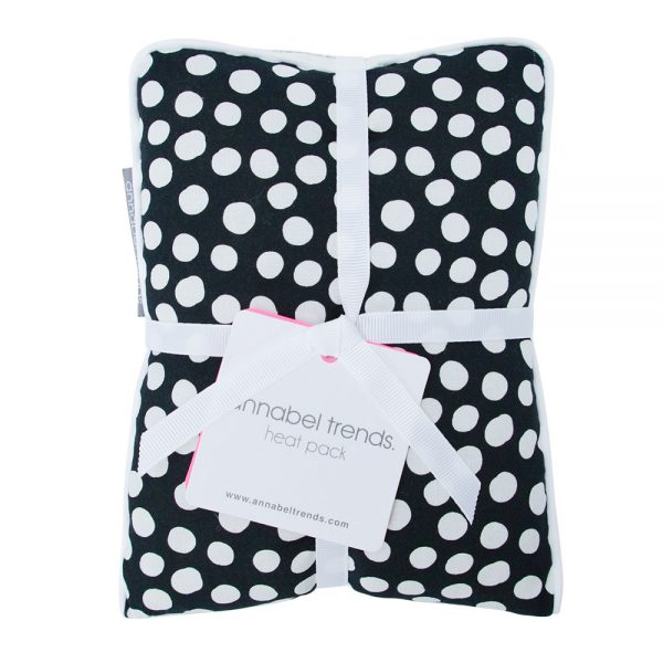 Heat Pillow - Spot Black - Annabel Trends