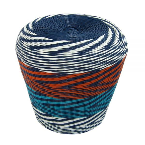 Twist Stool - Multi Zig Zag - Annabel Trends