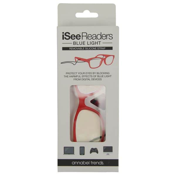 iSee Reader - Blue Light - Red - Annabel Trends