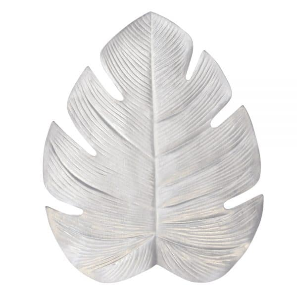 Placemat - Palm Leaf - Metallic Silver - Annabel Trends