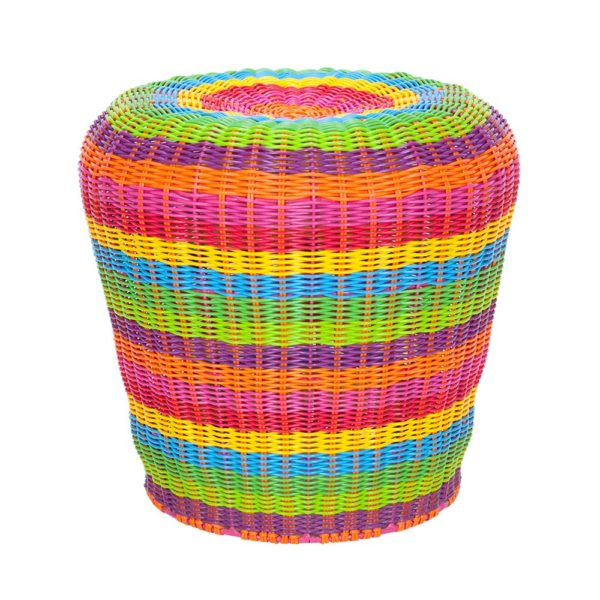 Twist Stool - Rainbow - Annabel Trends