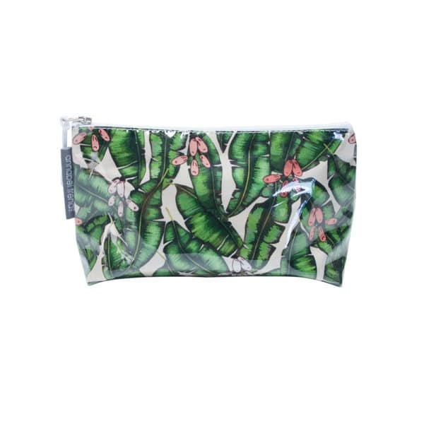 Cosmetic Bag - Small - Banana Leaf - Annabel Trends