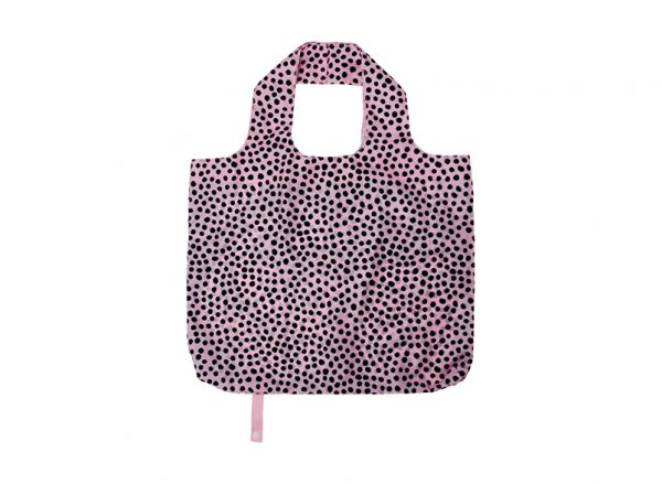 Shopping Tote - Pink Spot - Annabel Trends