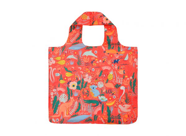 Shopping Tote - Down Under Coral - Annabel Trends