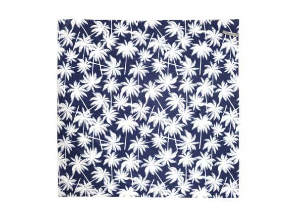 Picnic Mat - Easy Wipe - Palm Navy - Annabel Trends