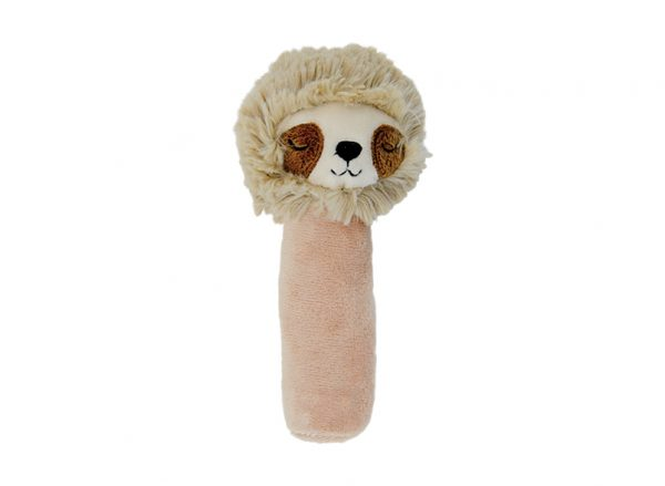 Hand Rattle - Sloth Brown - Annabel Trends