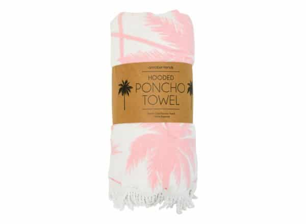 Poncho Towel - Palm - Annabel Trends