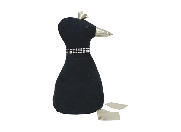 Doorstop - Duck - Black - Annabel Trends