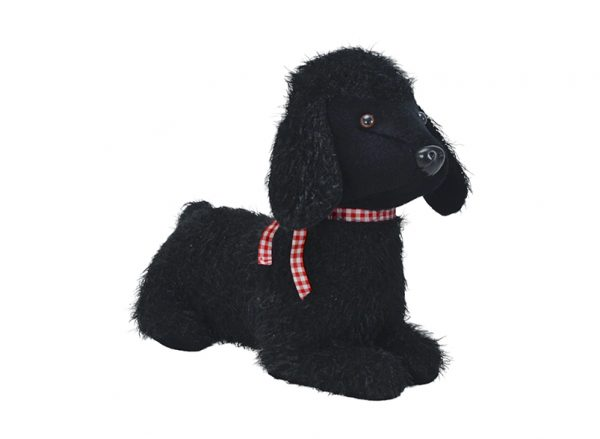 Doorstop - Poodle - Black - Annabel Trends