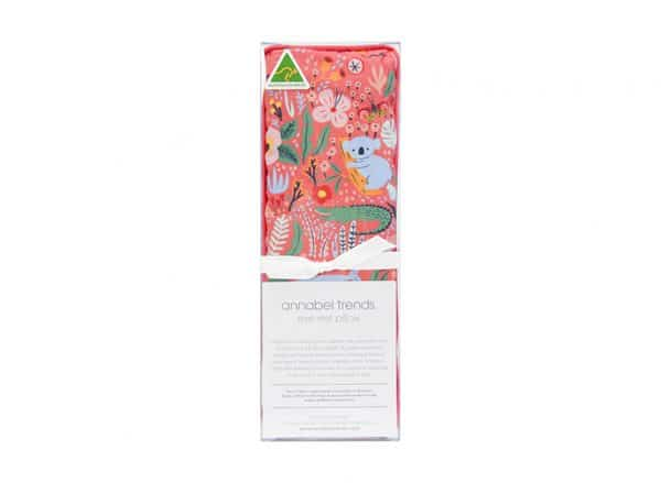 Eye Rest Pillow - Down Under Coral - Annabel Trends