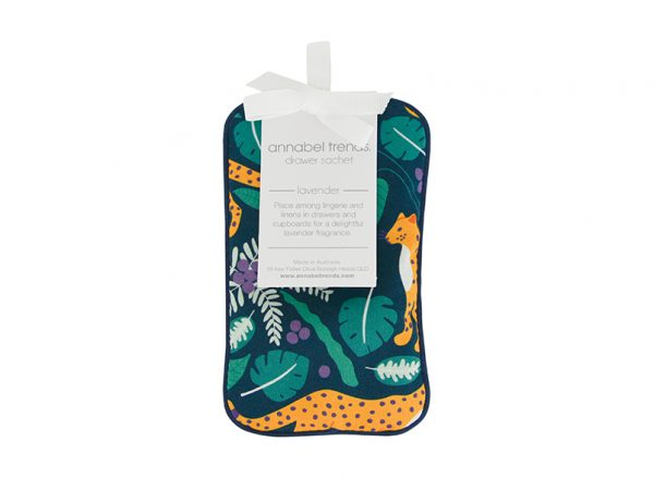 Drawer Sachet - Leopards Dark - Annabel Trends