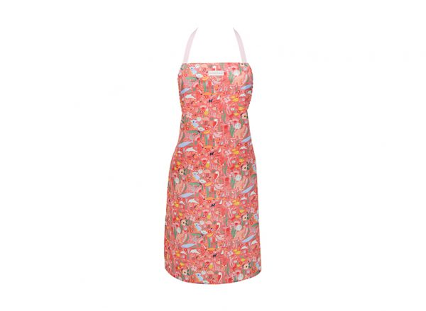Apron - Down Under Coral - Annabel Trends
