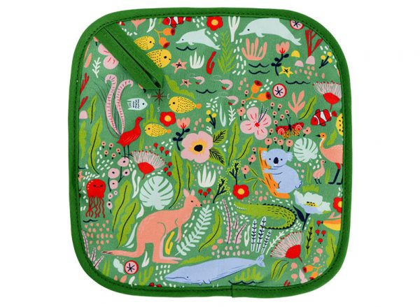 Pot Holder - Down Under Green - Annabel Trends