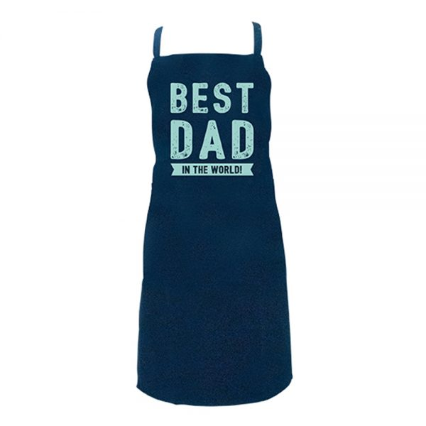 Screen Print Aprons -Best Dad - Annabel Trends