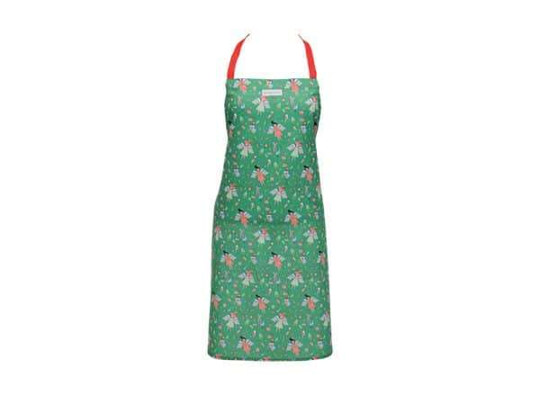 Apron - Christmas Angel Green - Annabel Trends