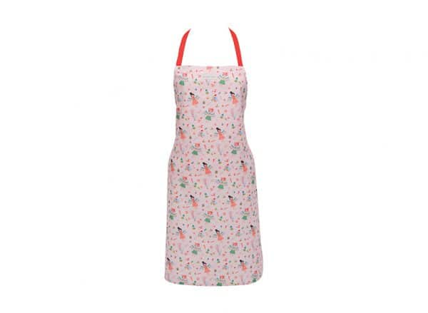 Apron - Christmas Angel Pink - Annabel Trends