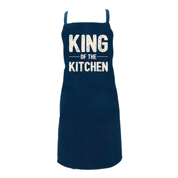 Screen Print Aprons - King of The Kitchen - Annabel Trends