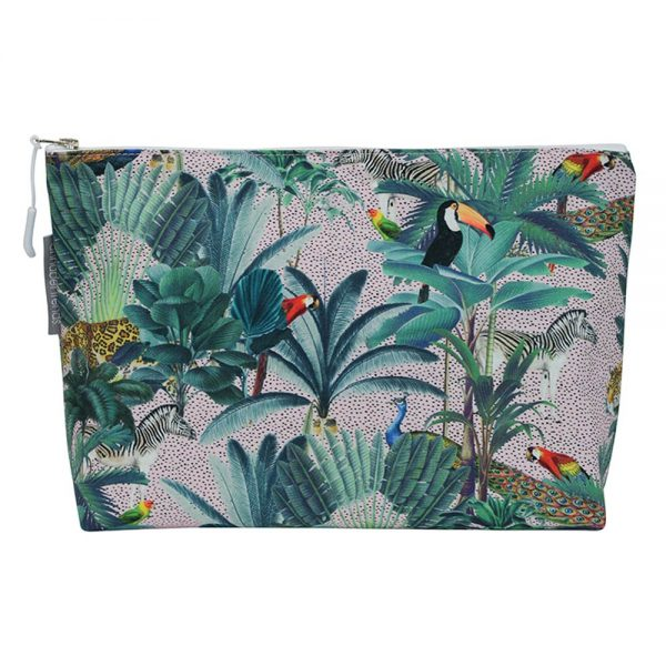 Cosmetic Bag - Large - Jungle Spot - Annabel Trends