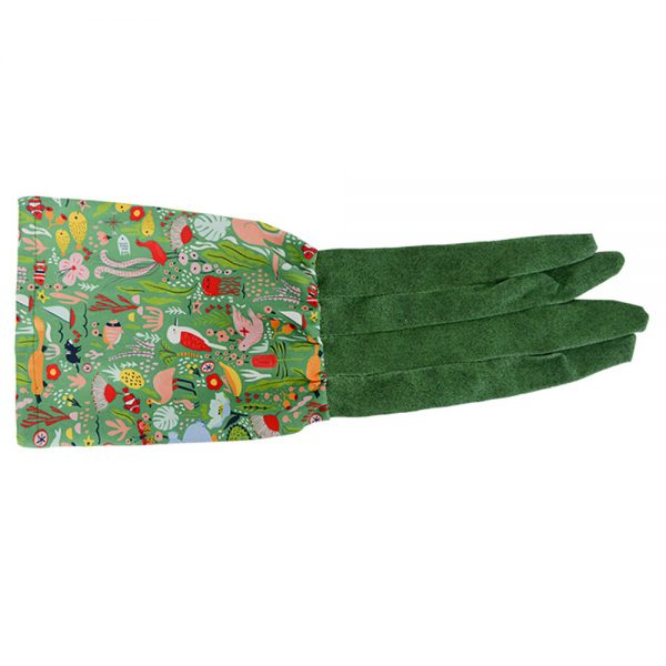 Long Sleeve Garden Gloves  - Down Under Green - Annabel Trends