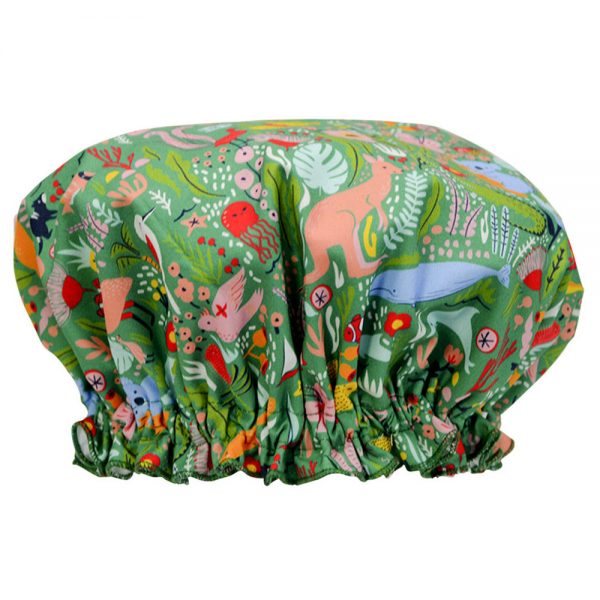 Shower Cap - Down Under Green - Annabel Trends