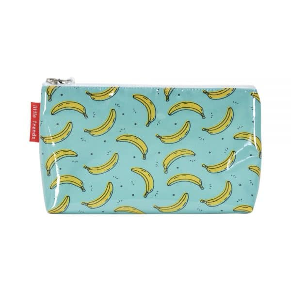 Cosmetic Bag - Small - Banana - Annabel Trends