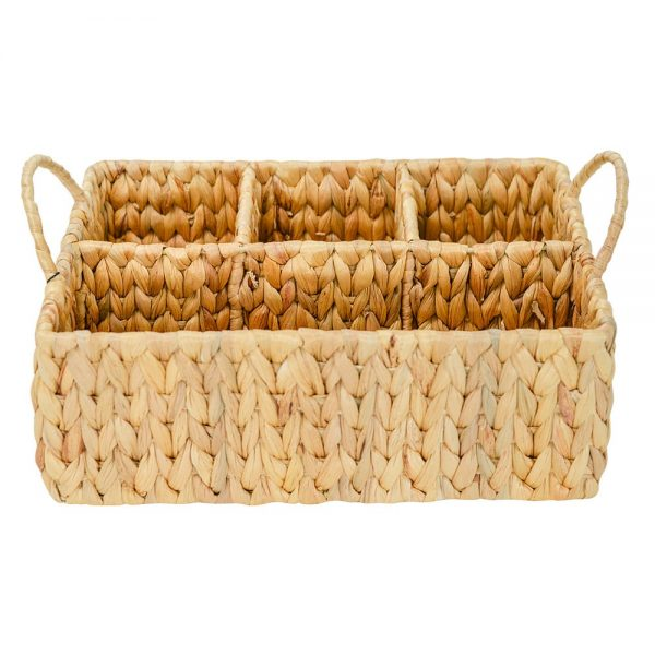Picnic Caddy - Water Hyacinth - Annabel Trends