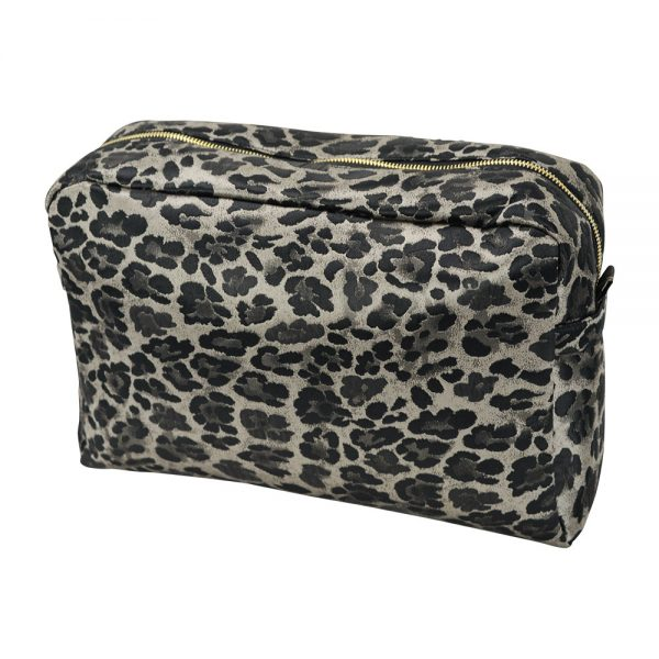 Cosmetic Bag - Large - Ocelot - Annabel Trends