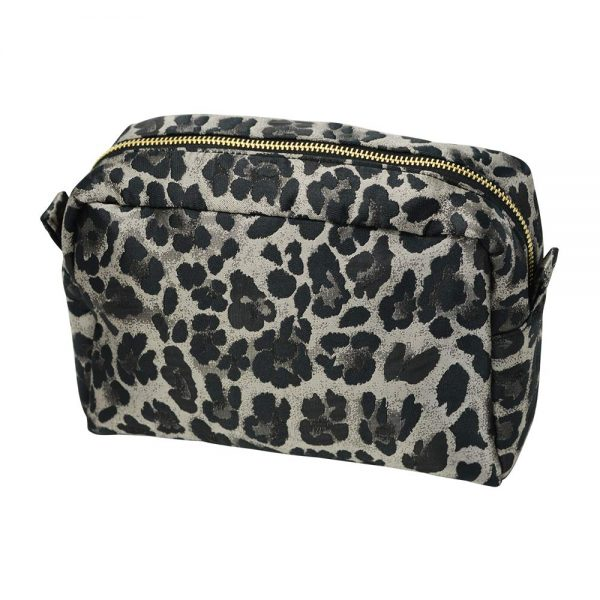 Cosmetic Bag - Small - Ocelot - Annabel Trends