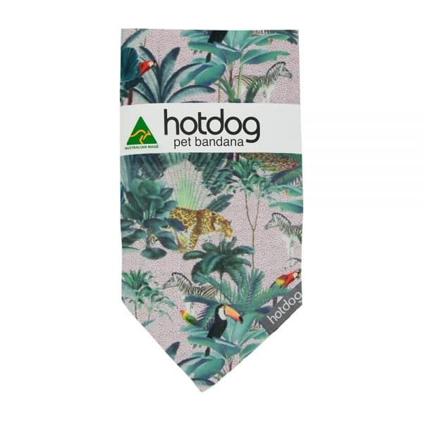 Hot Dog - Bandana - Jungle Spot - Annabel Trends