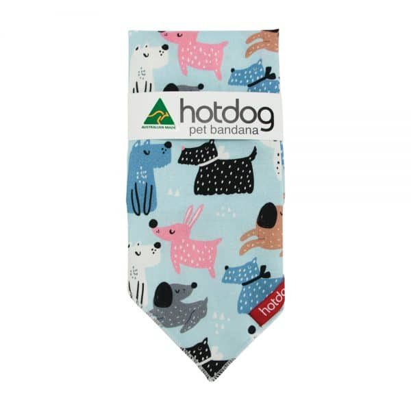 Hot Dog - Bandana - Dog Mix - Annabel Trends