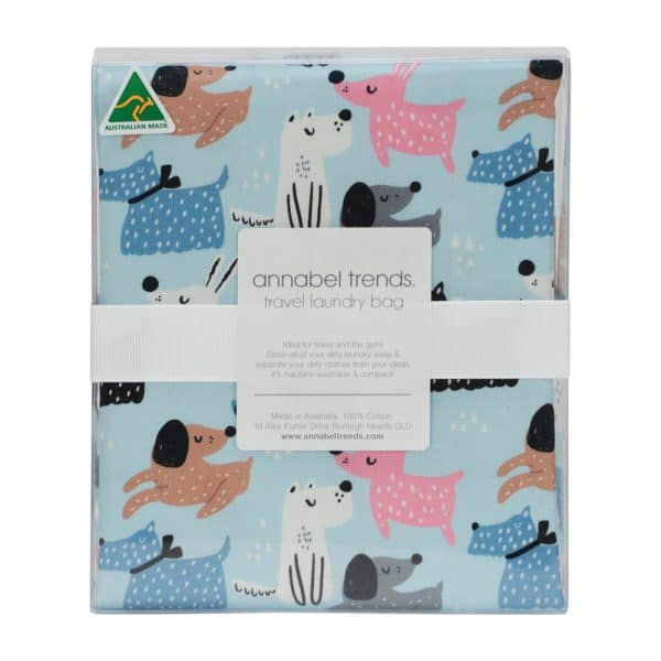Laundry Bag - Dog Mix - Annabel Trends