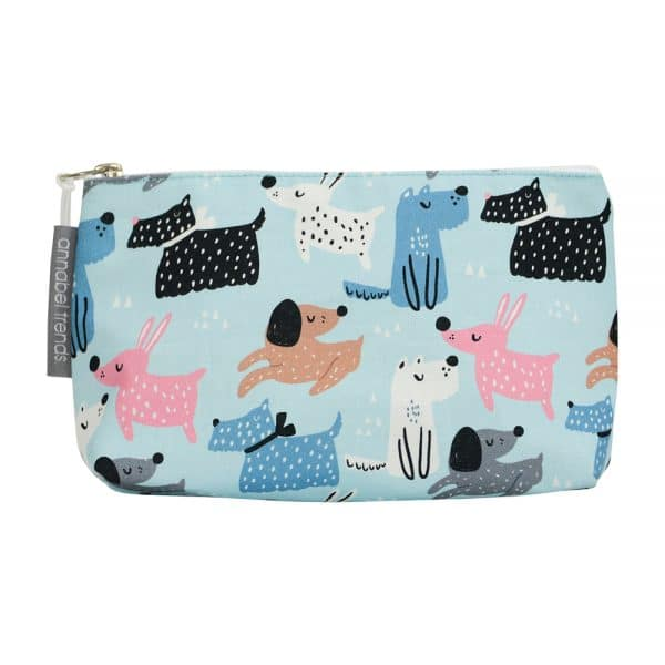 Cosmetic Bag – Small - Dog Mix - Annabel Trends