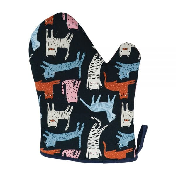 Oven Mitt - Single - Cat Mix - Annabel Trends