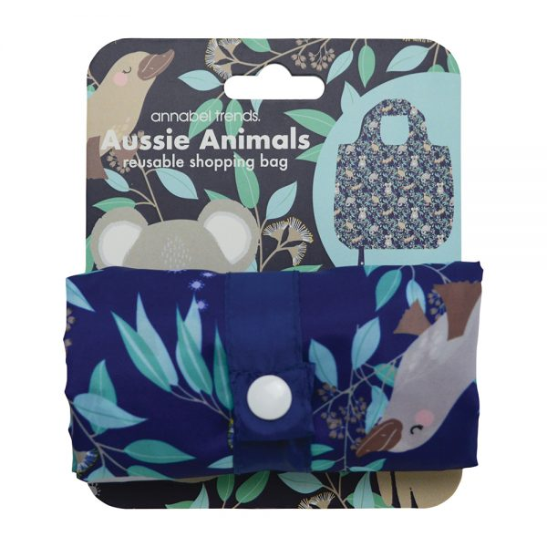 Shopping Tote - Aussie Animals - Annabel Trends