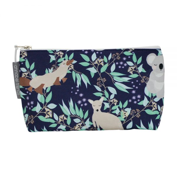 Cosmetic Bag – Small - Aussie Animals - Annabel Trends