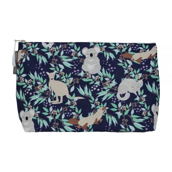 Cosmetic Bag - Large - Aussie Animals - Annabel Trends