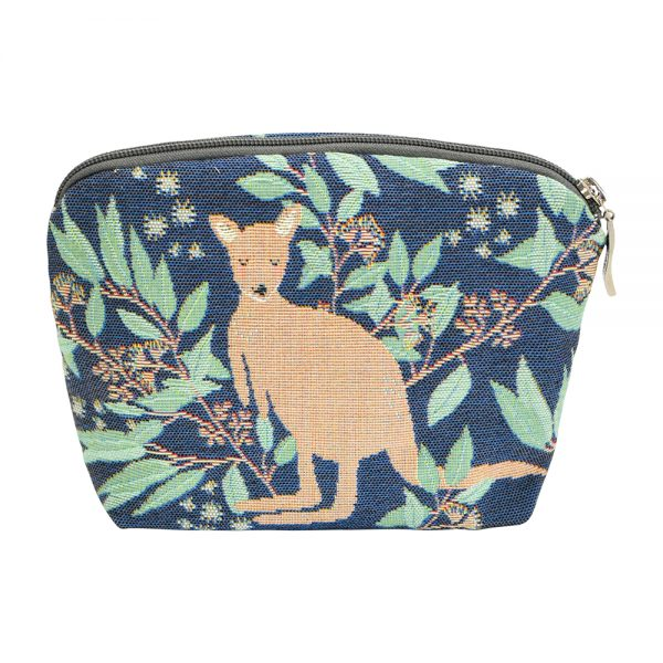 Annabella French Tapestry Cosmetic Bag - Aussie Animals - Annabel Trends