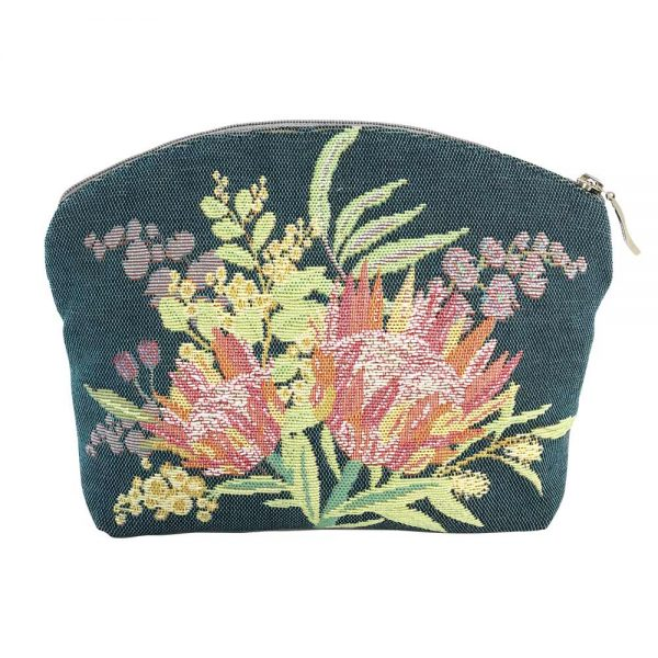 Annabella French Tapestry Cosmetic Bag - Aussie Flora - Annabel Trends