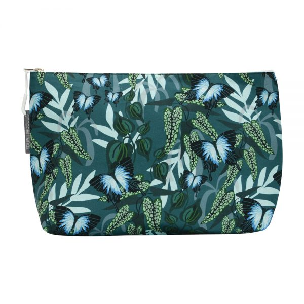 Cosmetic Bag - Large - Ulysses Butterfly - Annabel Trends