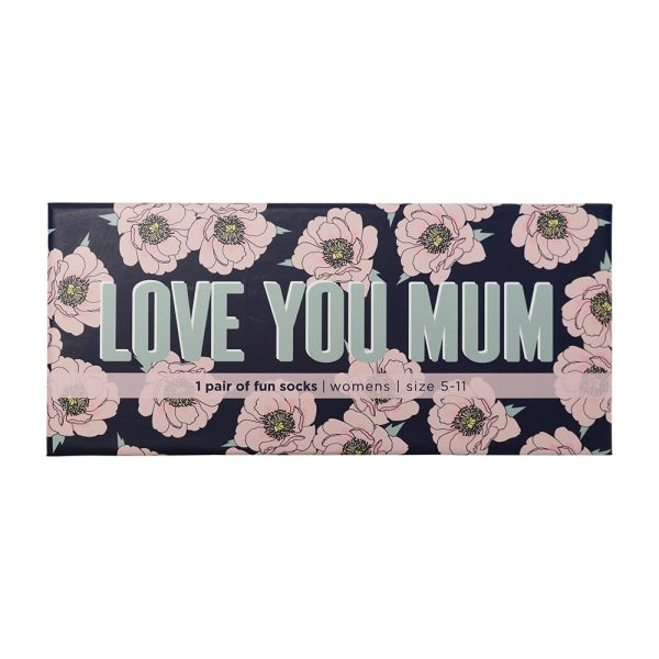 Boxed Socks - Love You Mum - Annabel Trends